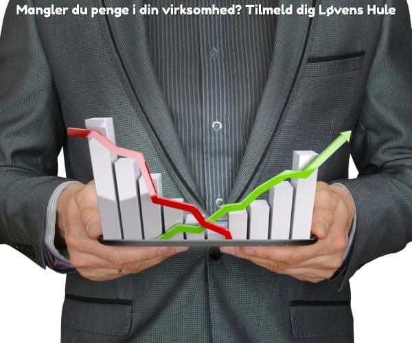 Mangler du penge i din virksomhed? Tilmeld dig Løvens Hule
