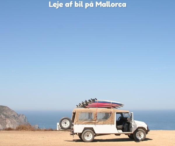 Leje af bil på Mallorca