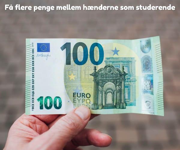 Få flere penge mellem hænderne som studerende