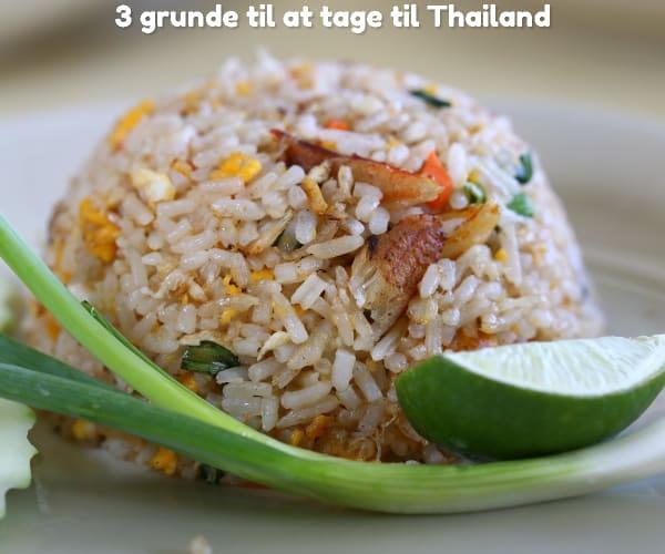 3 grunde til at tage til Thailand